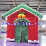 Grandi decorazioni esterne di natale/Camera gonfiabile divertente della decorazione di natale