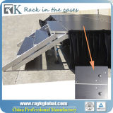 Fase di legno di evento della fase esterna della piattaforma del blocco per grafici di alluminio