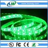 Solo color interior SMD 5050 tira flexible verde/roja/azul de los 60LEDs/m del LED