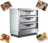 Zuverlässige Tellersegment-Bäckerei-elektrischer Ofen der Qualitäts3 Plattform-9 für Brot/Pizza