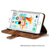 Neuer lederner mobiler Handy-Fall-Deckel für iPhone