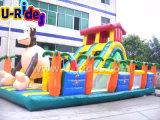 Игрушка шлямбура скольжения обезьяны раздувная для малышей