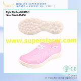 Jelly Color Poes New Materials Unisex Holey Casual Shoes pour l'été