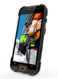 5 polegadas Quad Core 4G Lte Rugged Waterproof Smartphone com 2 + 16GB de memória 5 + 13MP Camera 1d / 2D Barcode Qr Code Scanner