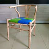 목제 곡물 Y 자형 뼈 Y 의자 대중음식점 다방 의자 (JY-R19)