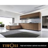 De houten Keukenkasten van het Ontwerp van Kabinetten Moderne met de Witte het Schilderen Opties tivo-0150V van het Vernisje van de Melamine