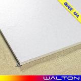 Porzellan-Fußboden-Fliese der weißen Farben-600X600 rustikale glasig-glänzende