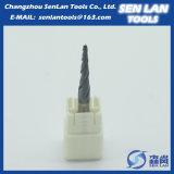 Подгонянная торцевая фреза карбида вольфрама высокой точности твердая для подвергать механической обработке CNC