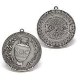 Mestiere antico della medaglia del premio del ricordo del metallo dell'argento 3D