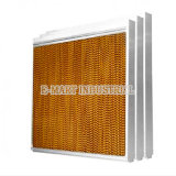 Système de refroidissement par évaporation / mur de refroidissement / rideau humide