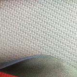 Neues Modell-synthetisches Leder für Handschuhe mit geprägtem Muster (HTS037)