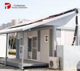 모듈방식의 조립 주택 인도