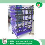 Gabbia d'acciaio personalizzata di logistica per il magazzino con approvazione del Ce
