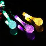 20 luzes solares da corda das modalidades do diodo emissor de luz 8 para a festa de Natal