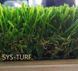 Грубое лезвие c с травой более яркой конструкции зеленого цвета лета искусственной