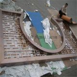 الصين زخرفة [ستينلسّ ستيل] شاشة مصنع خداع حارّ إلى جنوب شرق آسيوية