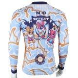 Милый сделанная по образцу шаржем куртка спортов покрывает втулка Breathable быстро сухой задействуя Джерси людей длинняя