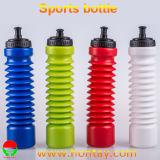 BPA libèrent la bouteille d'eau en plastique flexible de la capacité 500-900ml