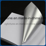 Selbstklebender Vinylluftblasen-Silber-Kleber-glatter gute Qualitätsauto-Aufkleber