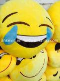 Buntes super weiches Plüsch-Spielzeug scherzt Kugel Emoji Kissen