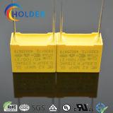 película metalizada condensador del polipropileno de la seguridad del rectángulo MKP de 0.33UF 275V