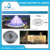 Sola luz de la piscina de la fuente LED de Color/RGB para el 100% impermeable