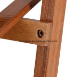Полка шкафа хранения древесины сосенки складная для индикации цветочного горшка