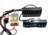 Jeep Wrangler Jk 07+ 6-Switch Panel avec boîtier de relais de système de contrôle et de source