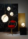 Éclairage pendant s'arrêtant moderne acrylique de décoration légère pendante de fer de Dlss Hotsale