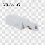 Prise d'alimentation de lumière de piste d'alimentation d'extrémité de 3 fils (XR-361)