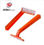 Fornitore a gettare del rasoio, rasoio di rasatura di plastica, singolo rasoio di rasatura della lamierina per l'uomo
