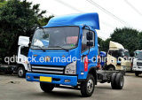 Carro medio del cargo de China Sinotruk 4*2 Van Container Light