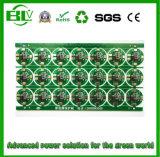 Dispositivos de la tarjeta de la batería de litio 8.4V BMS/PCBA/PCM/PCB para el paquete de la batería de 18650 Li-iones