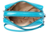 O cosmético de couro do plutônio da cor feita sob encomenda carreg o saco
