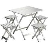 Aluminiumstab-faltender kampierender Tisch