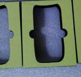 Noir EVA de caisse d'emballage d'éponge d'EVA