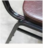 ブラウンカラーは使用されたレストランのための宴会の椅子を終えた(CG1611)