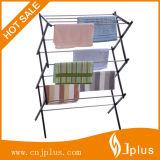Портативный складывая стеллаж для просушки прачечного шкафа сушильщика одежд для полотенца Jp-Cr404