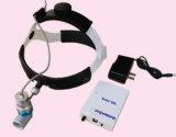 farol otorrinolaringológico médico do diodo emissor de luz 3W com a bateria de lítio recarregável