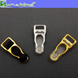 Clips ceinture purs de jarretière d'or de Rose de forme de pilon en métal de Wholeselling