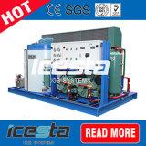 Машина льда хлопь проекта Conrete охлаждая с средством доставки