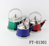 フィルター新しいハンドルのやかん(FT-01301)が付いているステンレス鋼