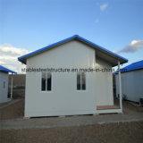 Camera residenziale chiara prefabbricata su ordinazione della struttura d'acciaio