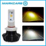 Markcars 2017二重カラー車LEDのヘッドライトTh7 9005