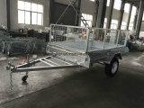 لحم [8إكس5] تماما شاحنة قلّابة يغلفن صندوق مقطورة مع [600مّ] قفص