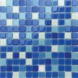 Mosaico de cristal da grama da cor quente da venda 4mm para a série do painel da cor da piscina (cor P14/P15/P16/P17)