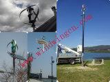 1000W moins de système domestique de générateur de vent 25dB sur le toit