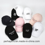 Berretto da baseball su ordinazione di modo dei cappelli di sport del cotone con ricamo