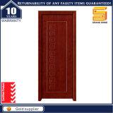 Design moderne en bois massif à l'intérieur de la porte en bois pour la construction et la décoration