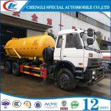 Dongfeng 10cbm Vrachtwagen van de Zuiging van de Riolering voor Verkoop